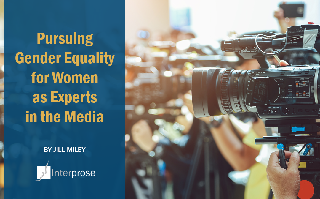 Pursuing Gender Equality for Women as Experts in the Media