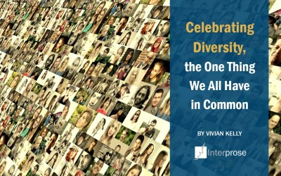 Celebrating Diversity, the One Thing We All Have in Common