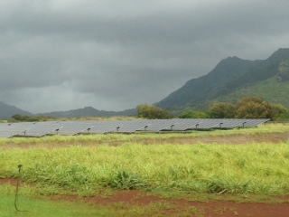 Hawaii's Anahola solar installation