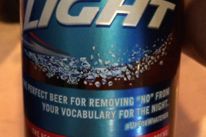 Bud Light's No-No