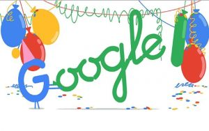 Happy 18th Birthday, Google!