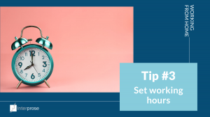 Working from home: work hours