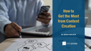 Interprose post on Content Creation