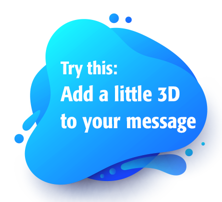 3d your message